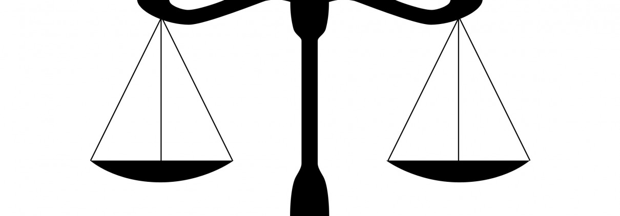 Justice Scales Silhouette