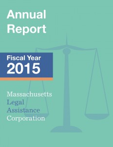 FY 15 annual report cover
