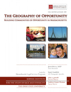 Geography of Opportunity Cover
