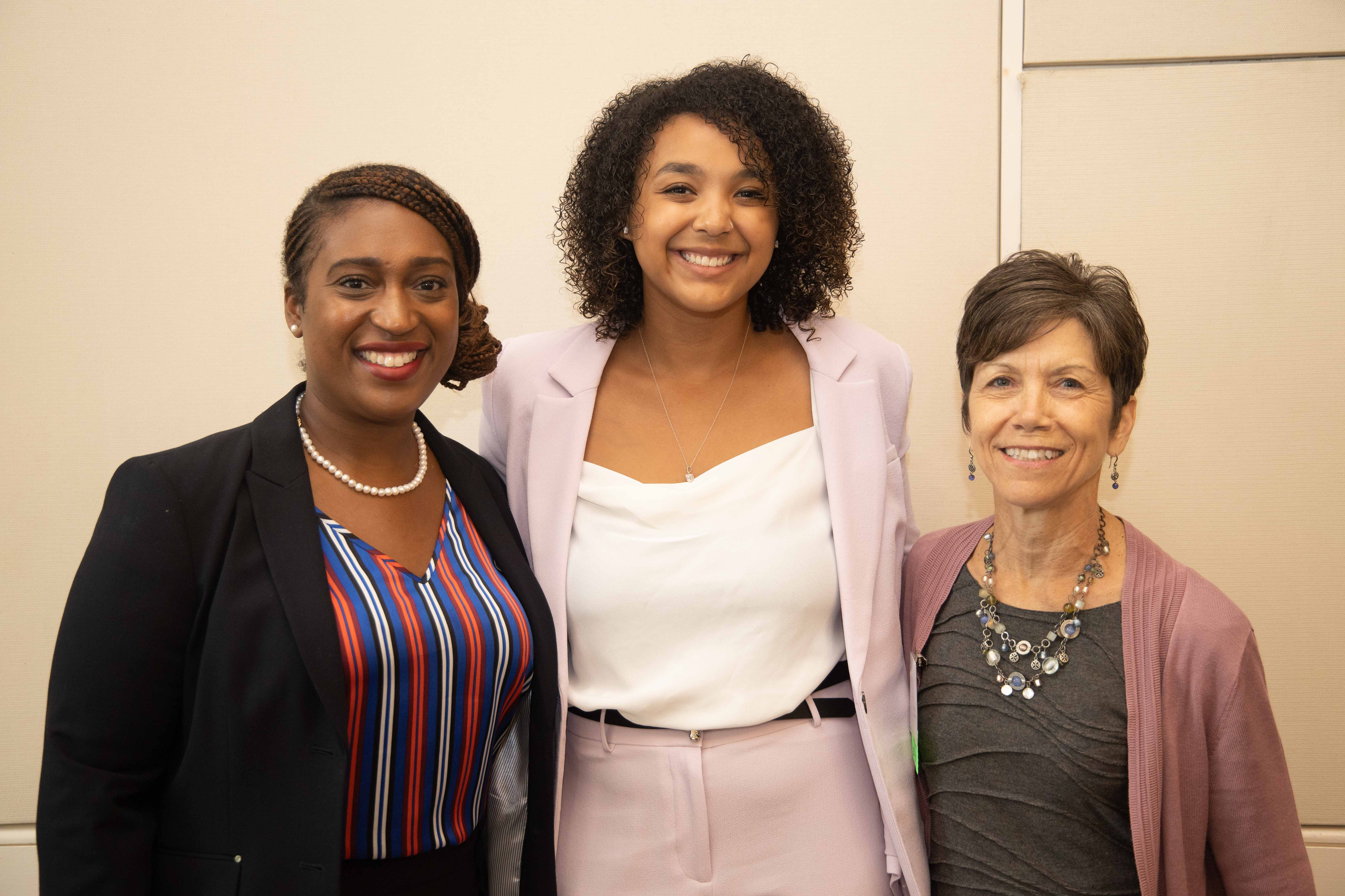 Tonysha Taylor, Bria Gambrell, Lynne Parker